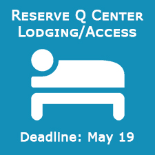 Reserve Q Center Lodging/Access - Deadline May 19