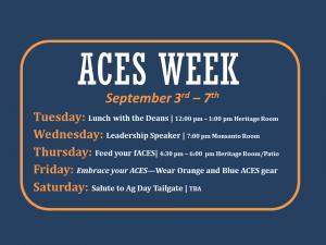 ACES Week Slide