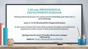 las-199-professional-development-seminar-promo
