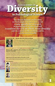 Illinois Summit on Diversity in Psychological Science