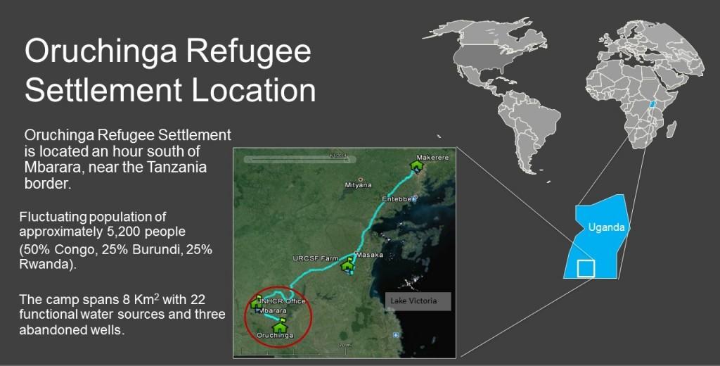 Oruchinga Location Map