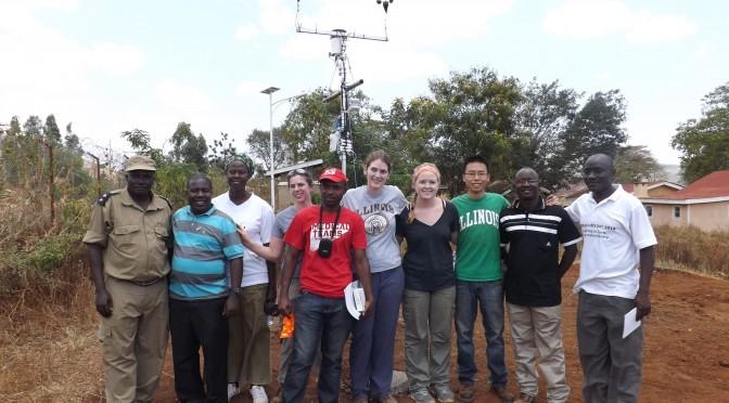 Day 5, 6 Uganda – Weather station installation (Andrea)