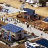 Figure 12: Solar village on the National Mall.