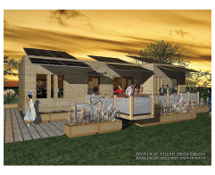 Figure 11 Rendering of the UIUC Solar Decathlon house.