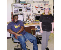 Figure 15 Bench 4. Left: Babalunde Badmus Costa. Right: Brittany Potter.