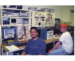 Figure 18 Bench 7. Left: George Nellikunnel. Right: Chris Giovingo