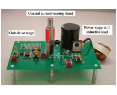 Figure 20 Hardware set-up with IGBT under test.