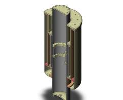 Figure 6 Permanent Magnet Synchronous Tubular Linear Generator (PMSTLG).