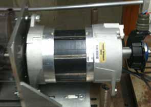 Figure 10: Custom 2kW machine