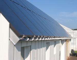 Figure 15: Solar panel installation.