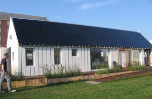 Figure 17: The Gable Home is almost ready for the Solar Decathlon.
