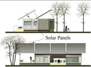 Figure 18: Solar-powered home: concept drawings