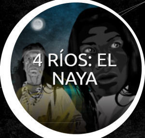 screenshot from 4 rios webpage, shows drawings of people