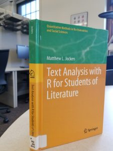 Cover of Text Analysis with R book