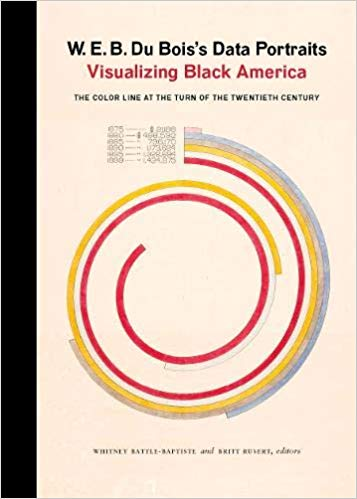 The front cover of the book W.E.B. DuBois's Data Portraits: Visualizing Black America
