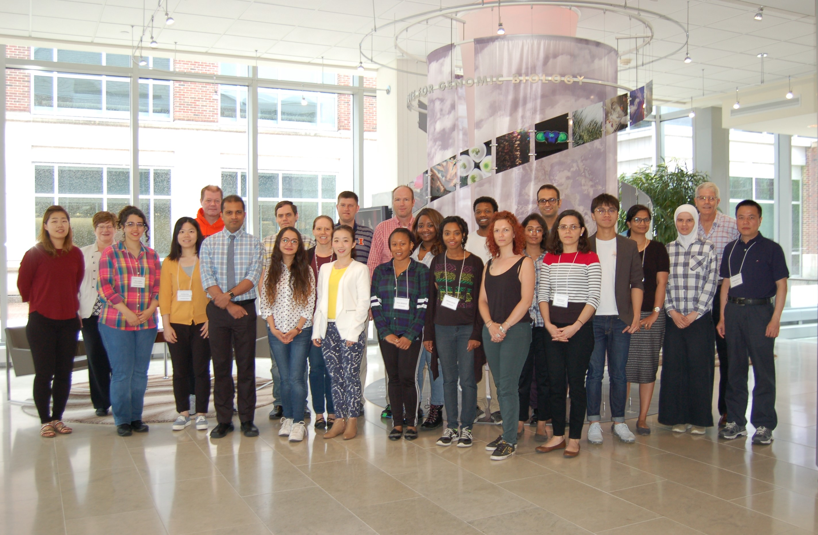 2018 Illinois Participants at the Institute for Genomic Biology