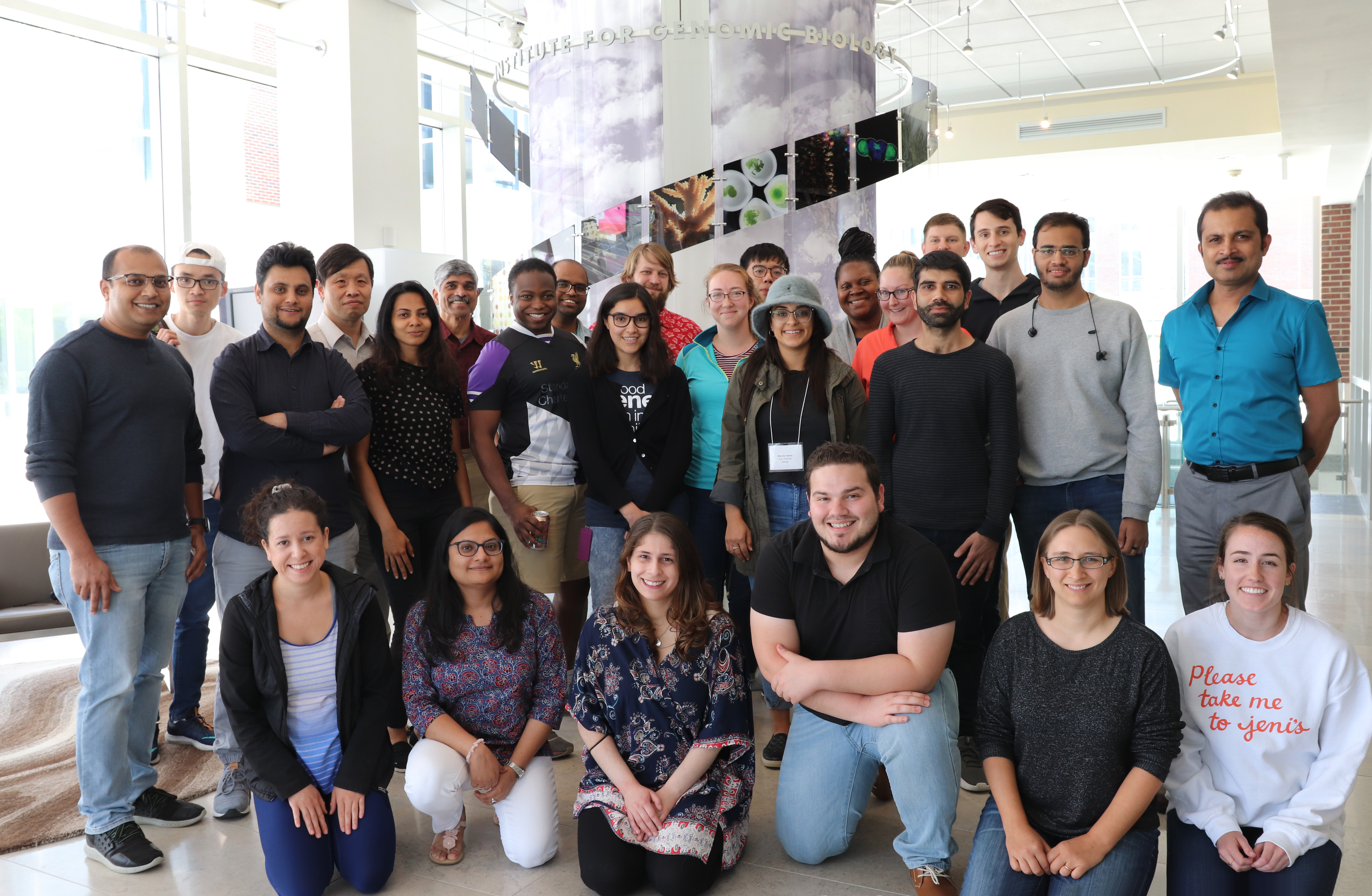 2019 Illinois Participants at the Institute for Genomic Biology