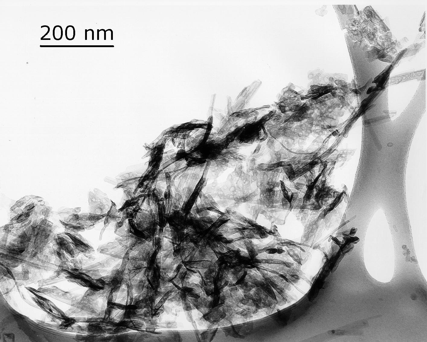 Slag Cement Microscope : Transmission electron microscopy tem concrete