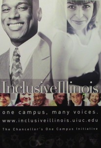 Inclusive Illinois: One Campus, Many Voices poster