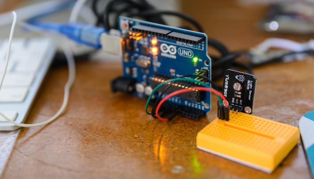 Arduino and a Light Sensor