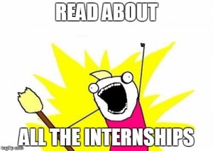 all the internships