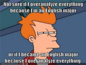 futurama english major