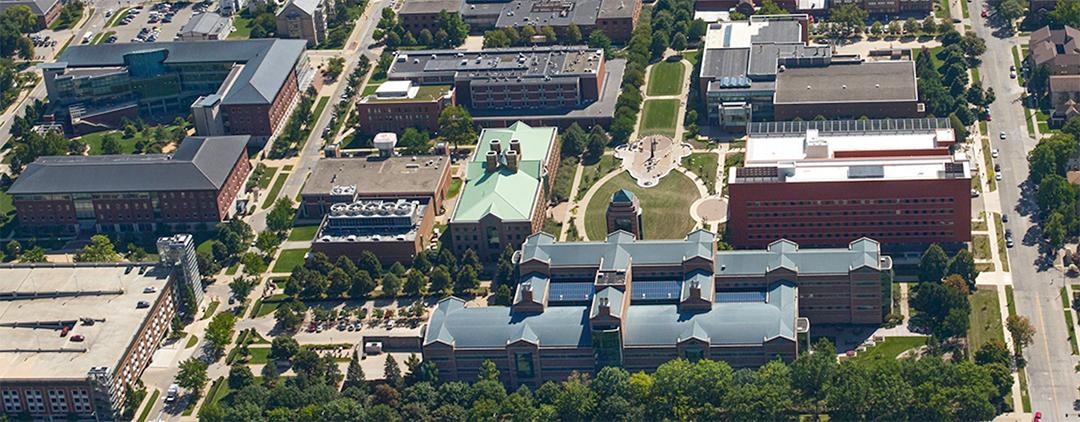 image of college campus