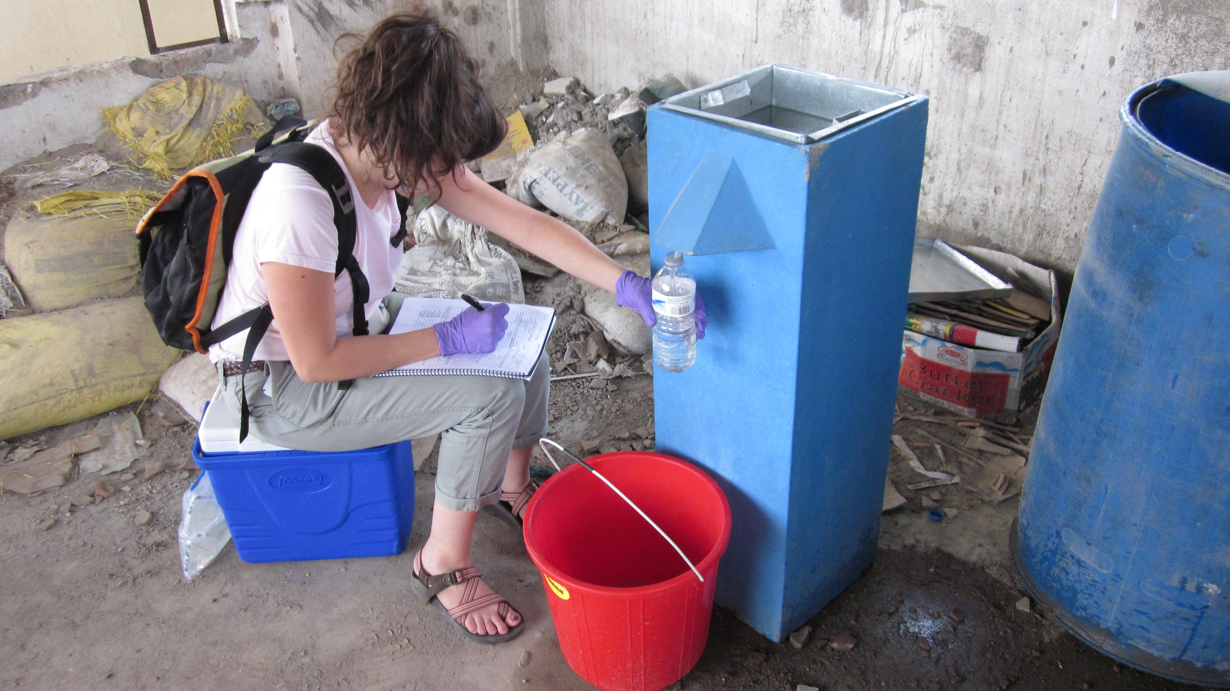 biosand filter fieldtrip to nepal and vietnam in 2014
