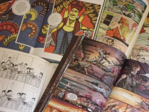 South Asia Comics from the U of I Library