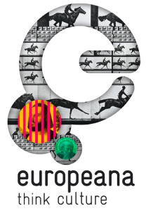 One of the logos of the Europeana Digital Library.