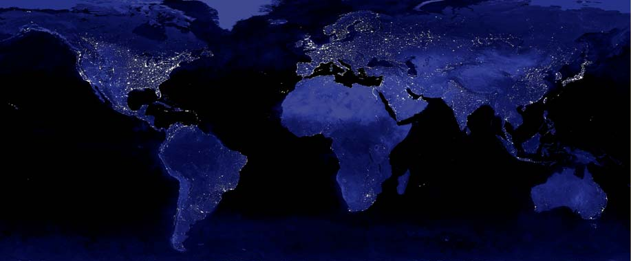 World_Night_Lights_Map