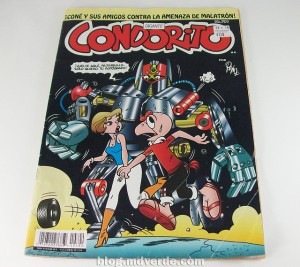 Condorito is a hybrid between a condor and man. His stories represent a comic tradition from Chile and have been popular throughout Latin America since 1949. Photo Credit: Gustavo Vargas