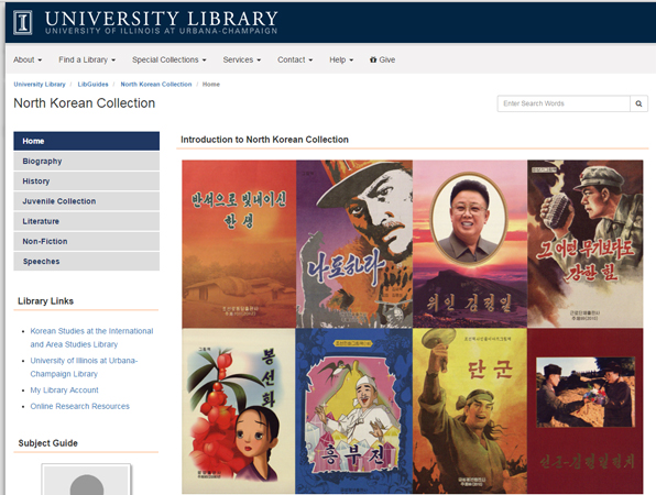 North Korean Collection at the University of Illinois at Urbana-Champaign Library