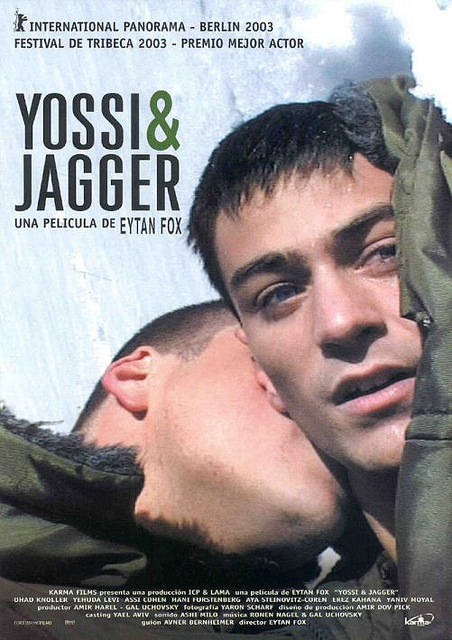 An image of the cover art used to promote the film Yossi & Jagger, a cinematic production that largely addresses LGBTQ issues. Photo Credit: José Vicente Salamero