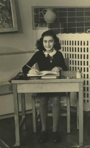 A photo of Anne Frank. Image Source: Wikimedia Commons.