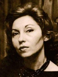 A photo of Clarice Lispector. Image source: ana.claudia on Flickr