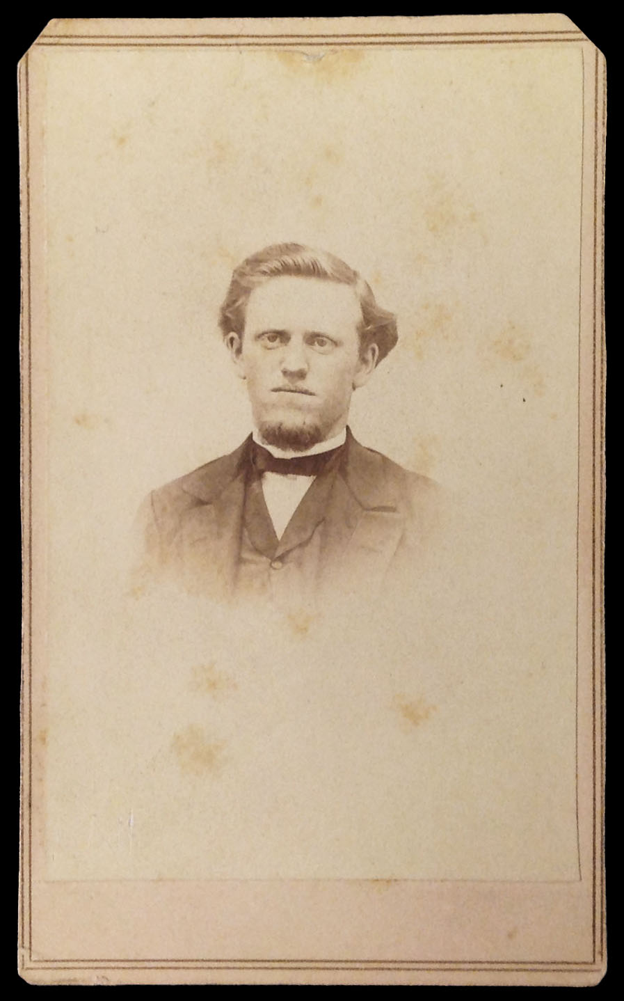 Photograph of William H. Stifler, 1867.