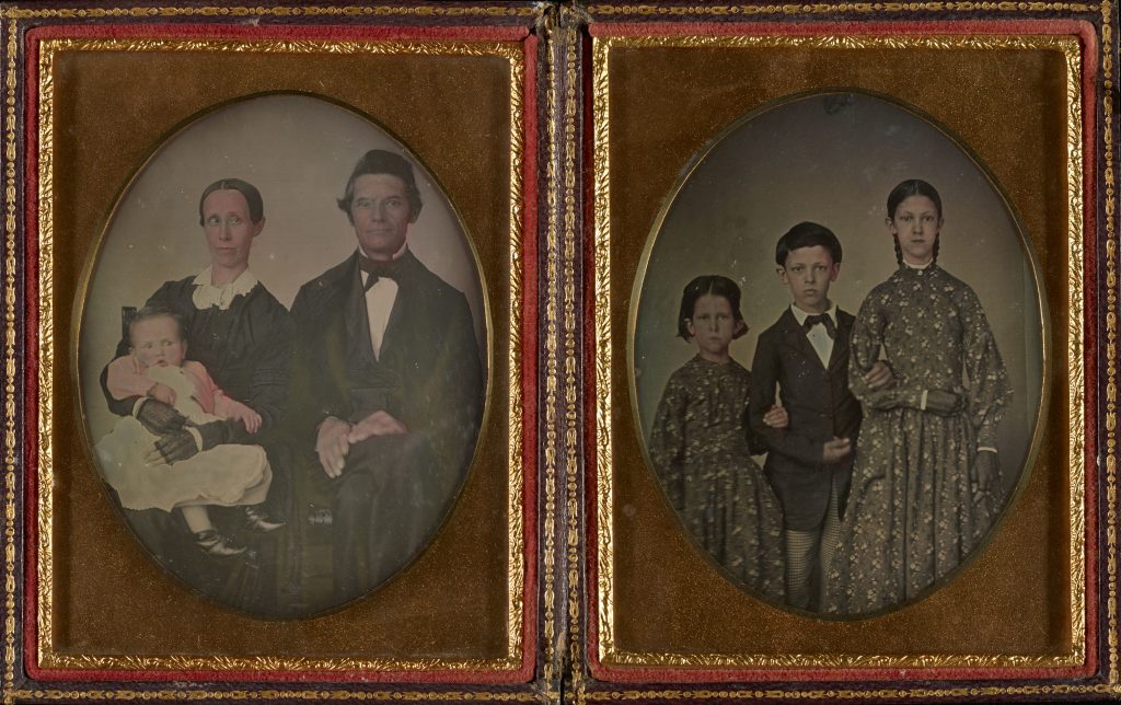 Leverett family, circa 1850s.