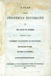 Turner's Granville Plan, 1851