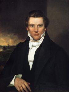 Painting of Joseph Smith Jr., circa 1842