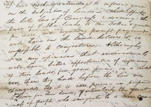 Letter from Thomas Mather to Stephen B. Munn on May 30, 1820