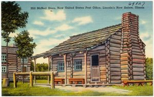 New Salem Post Office Postcard