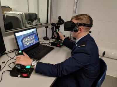 CITL Innovation Spaces » VR Flight Simulator Up and Running