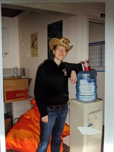 Old photo of Juliana
