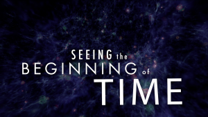 Seeing the Beginning of Time title screen