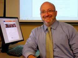 Scott Walter receives the 2012 Distinguished Education and Behavioral Science Librarian Award