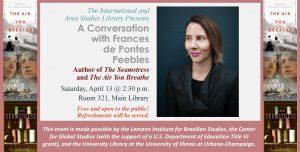 Frances de Pontes Peebles Talk Digital Sign