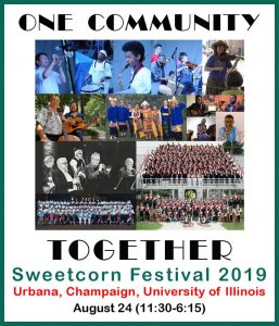 Flyer for the One Community Together programming