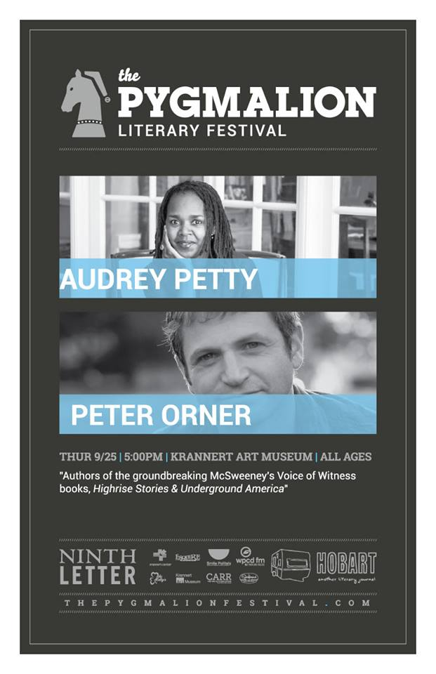 Audrey Petty and Peter Orner