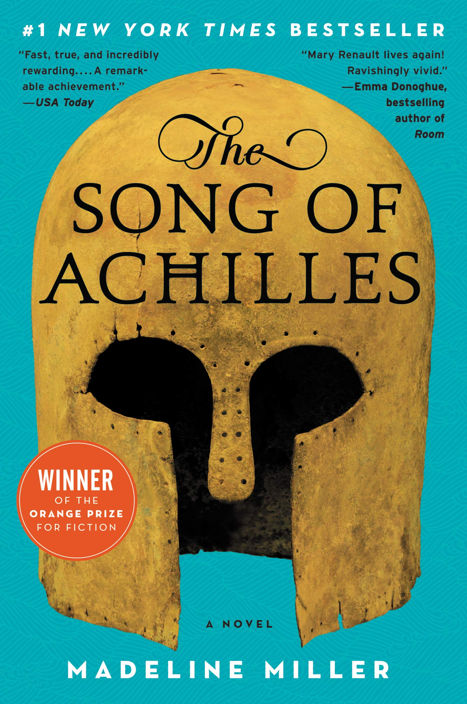 Blue cover with a golden Grecian helmet emblazoned with the book title.